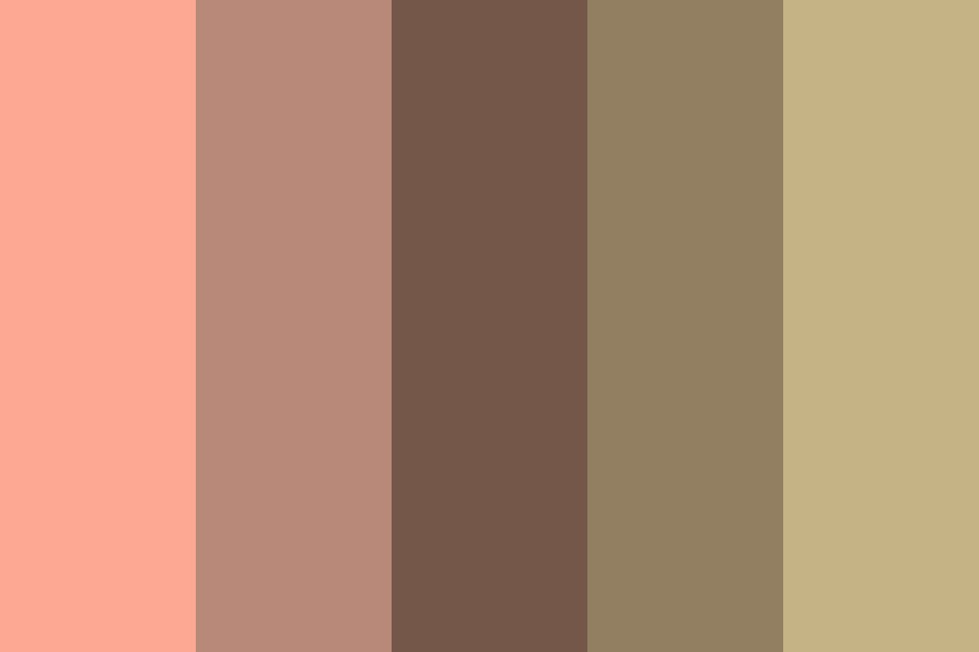 Apple Juice Is Really Good On A Summer Morning Color Palette