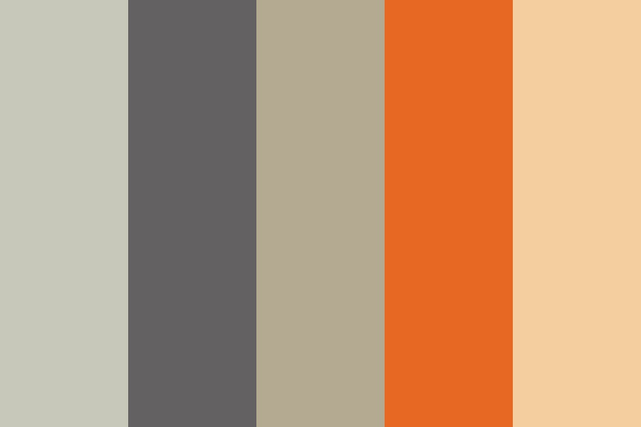 Apple Plus Orange Pop Color Palette