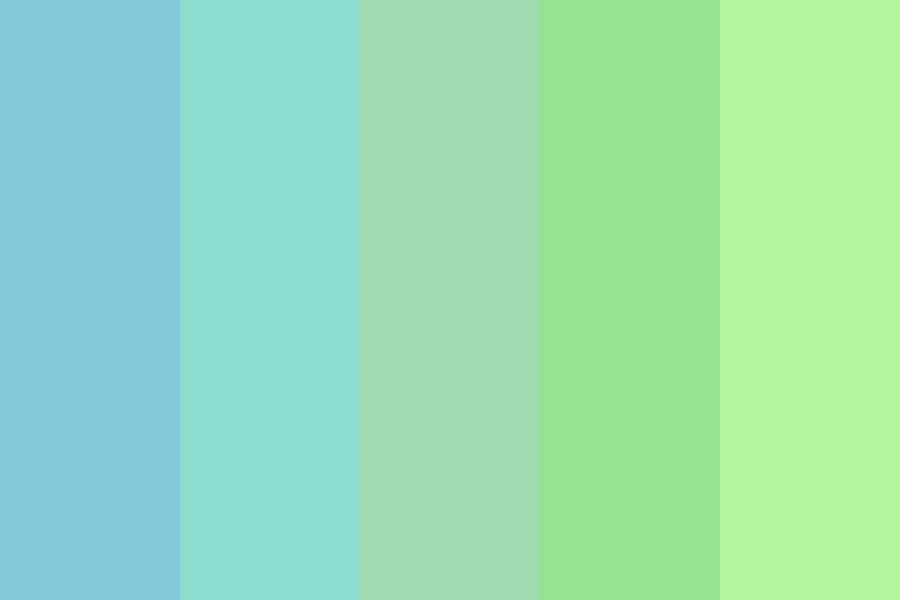 Apples In The Sky Color Palette