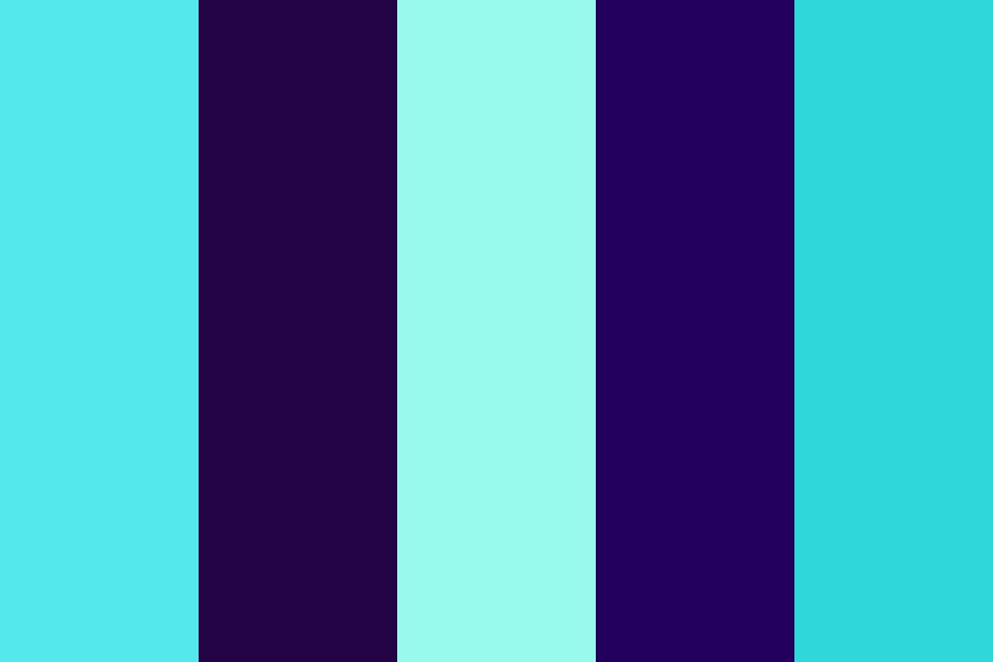 Aqua Aura Color Palette