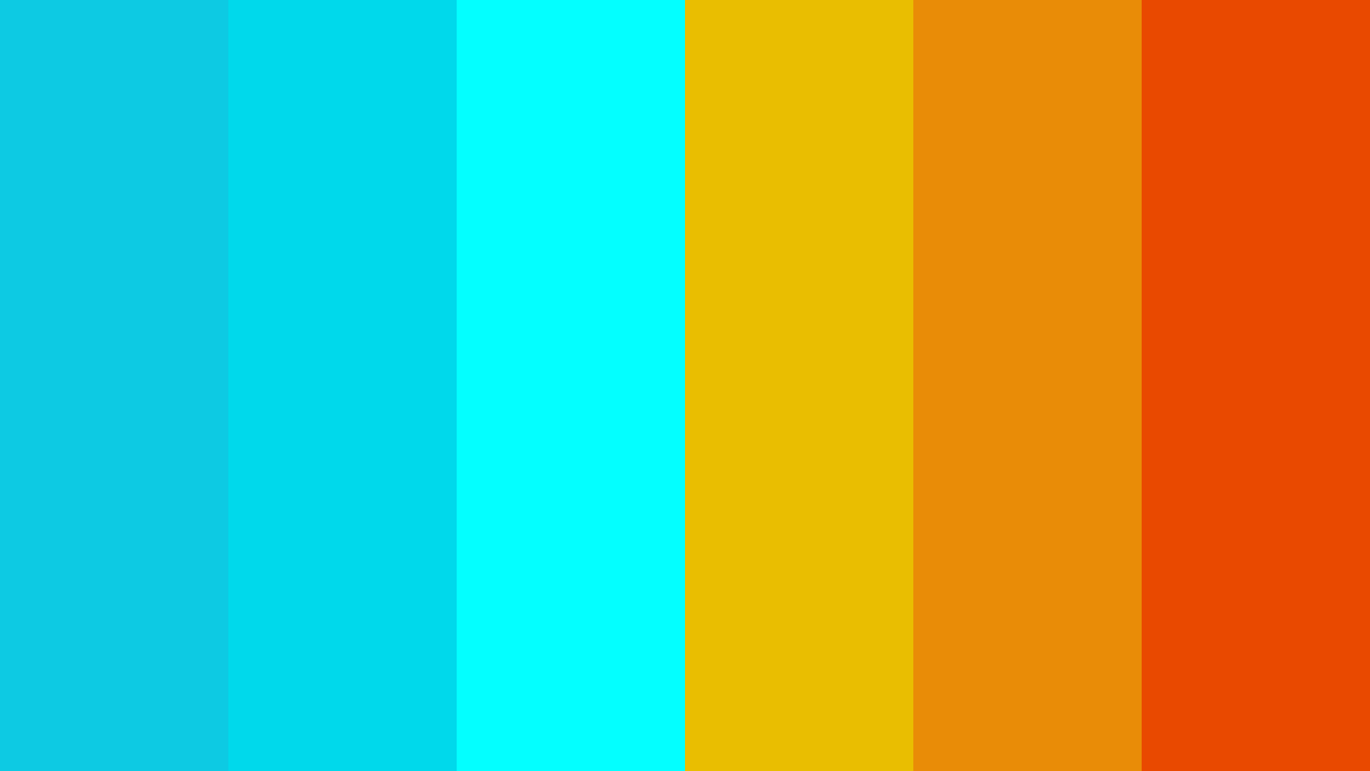 Aqua Mode Color Palette
