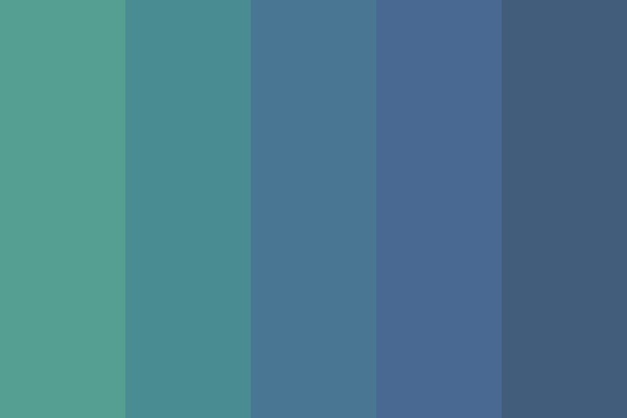 Aqua Splash Color Palette