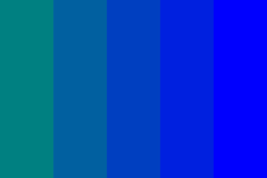 Aquafina Color Palette