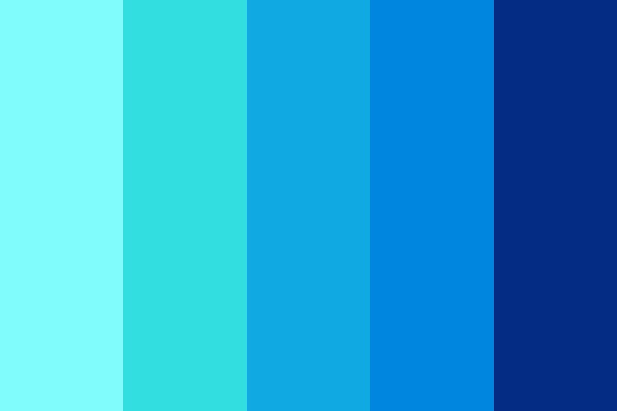 Aquamarine Su Color Palette