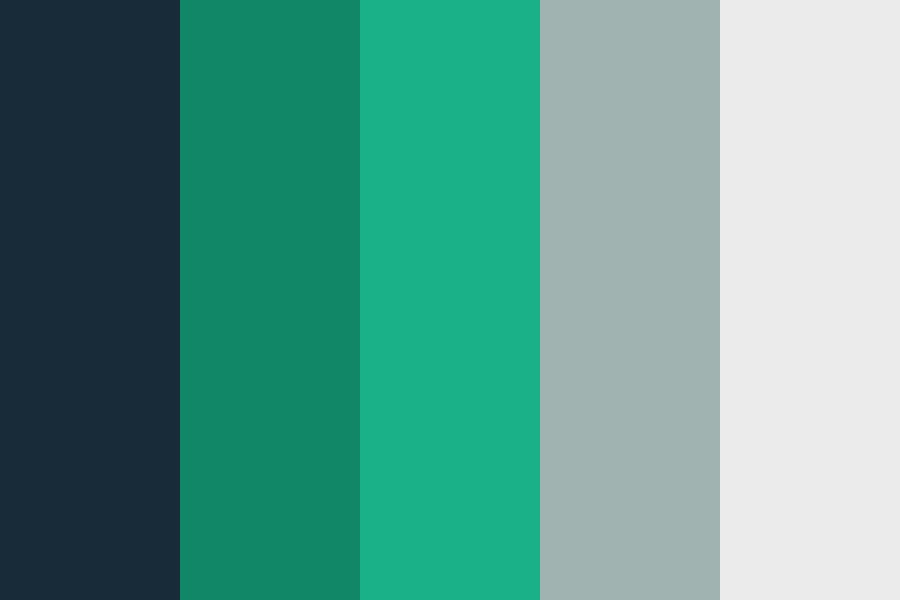 Aquamarinery Color Palette