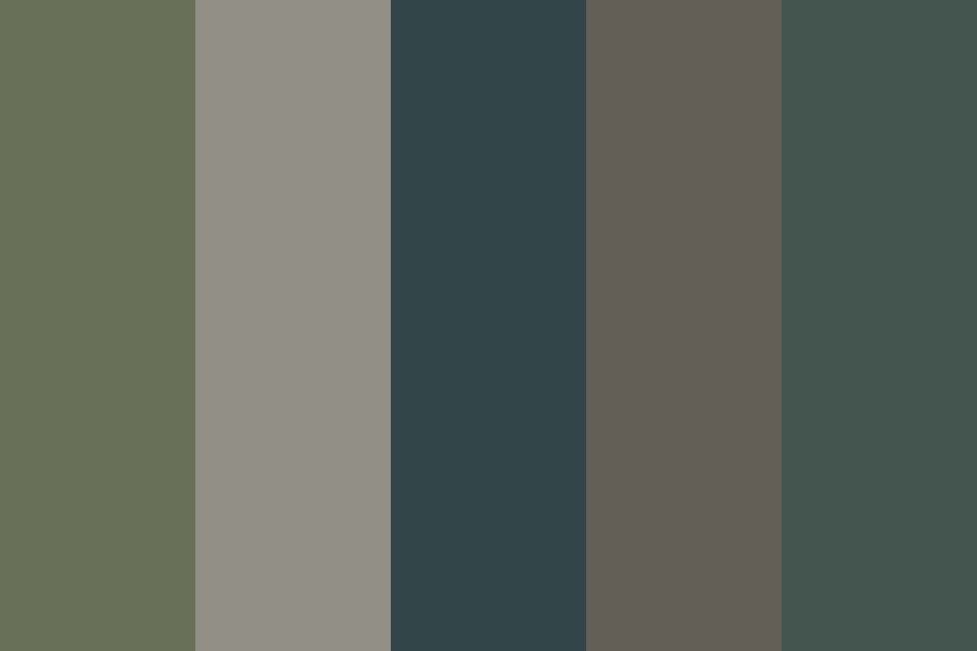 Aquatic Betch Color Palette