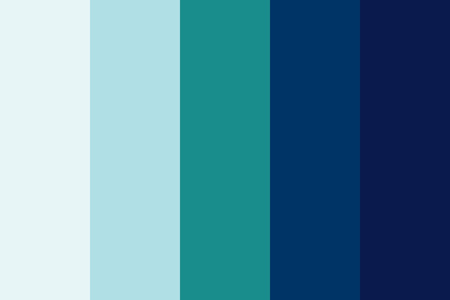 Aquaticblues Color Palette