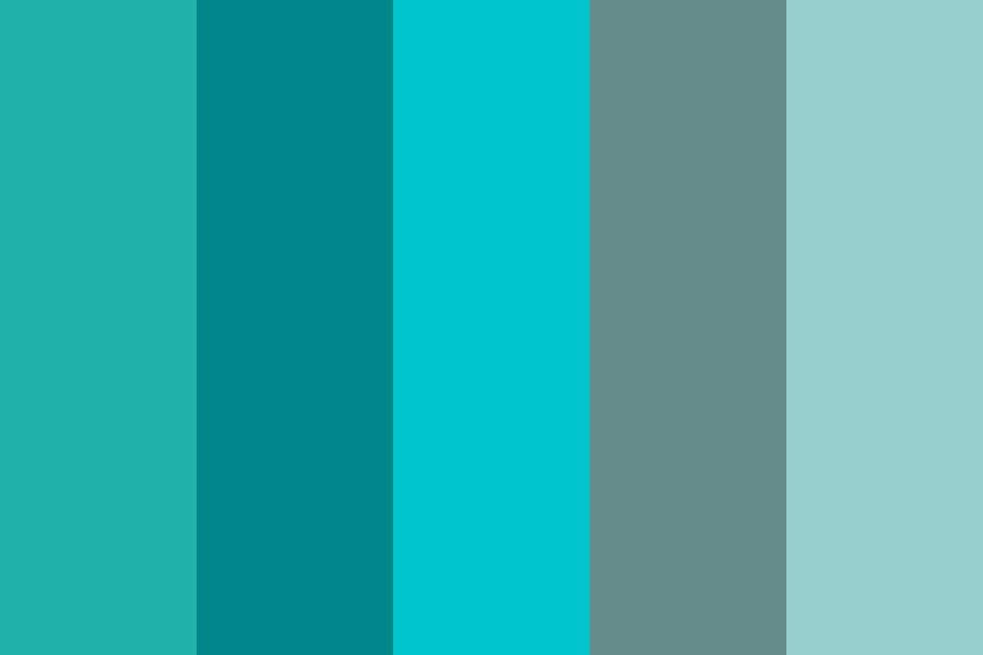 Aquaturq Color Palette