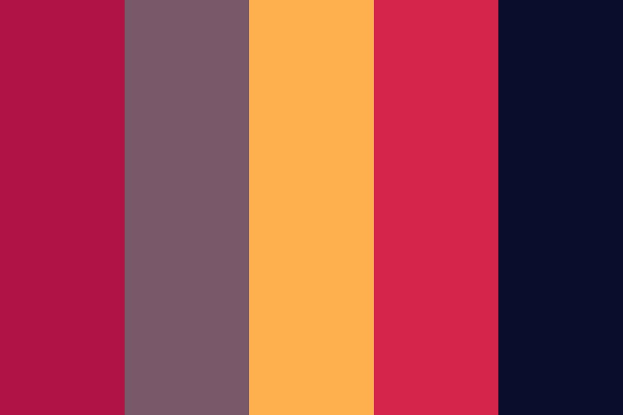 Arabian Night Color Palette