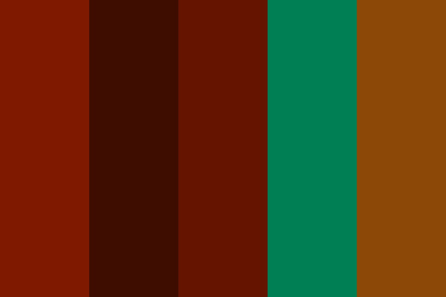Aramaic Red Color Palette
