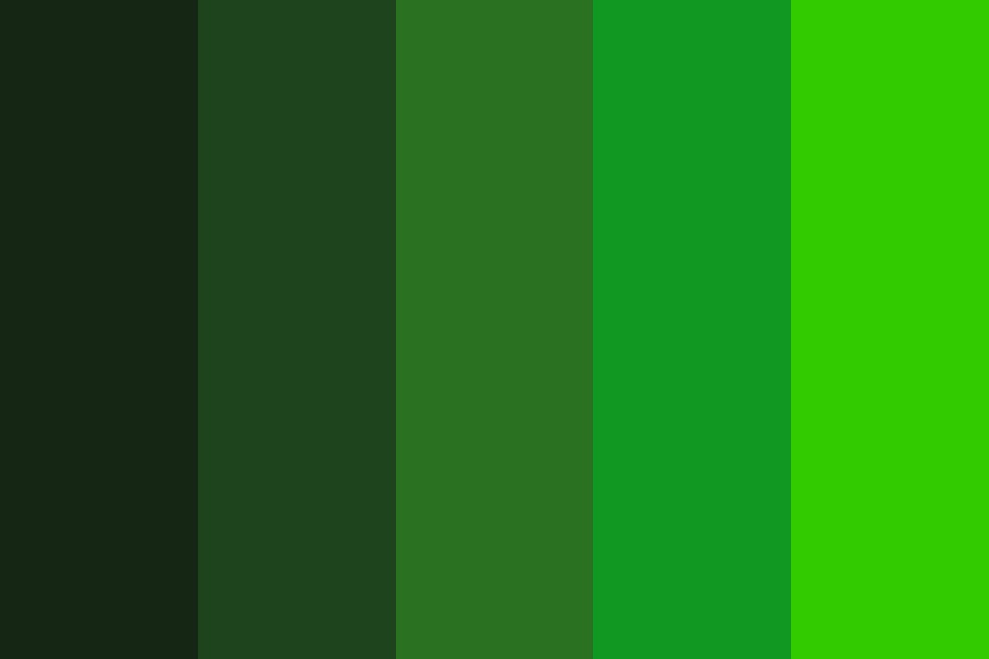 Are You Green With Envy Color Palette