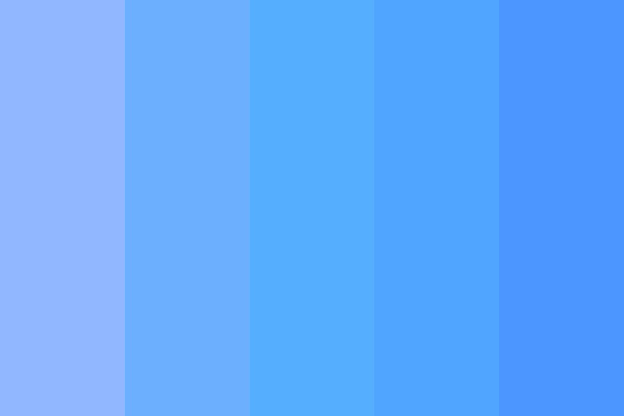 As Blue As The Sky Color Palette