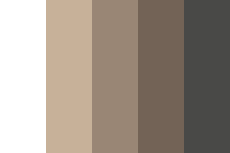 As Browns Color Palette