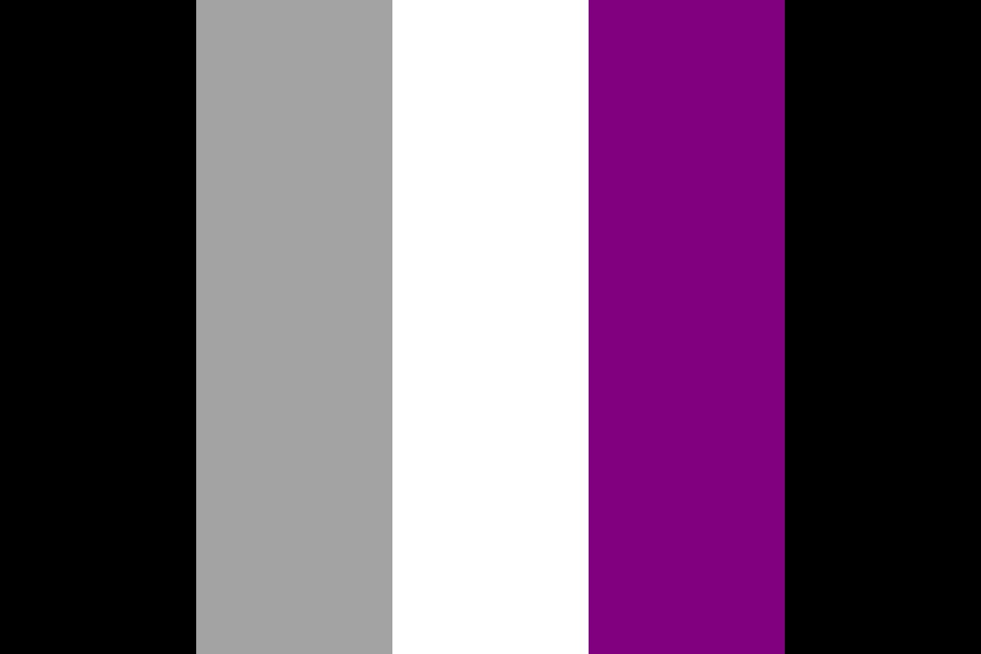 Asexual Flag Color Palette