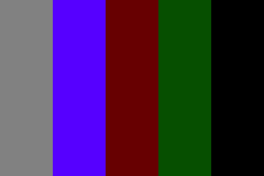Ash Covered Holly Color Palette