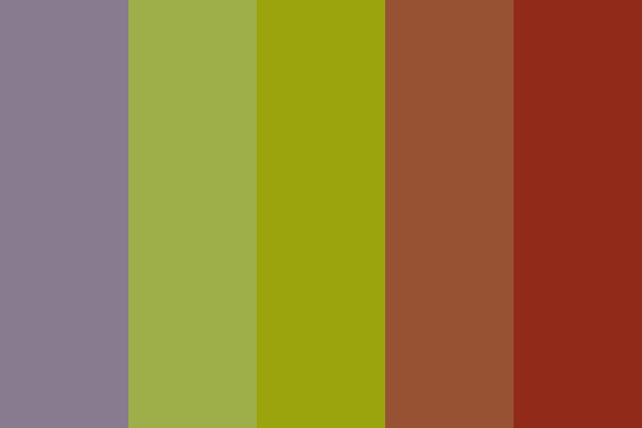 Ash Tree Of Mars Color Palette