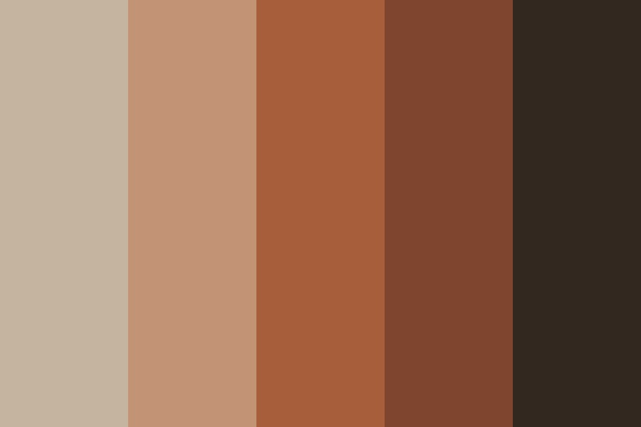 Aston Brown Color Palette