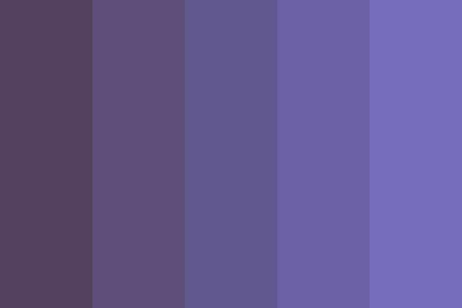 At Night Color Palette