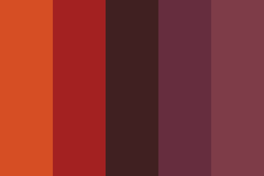 August Nights Color Palette