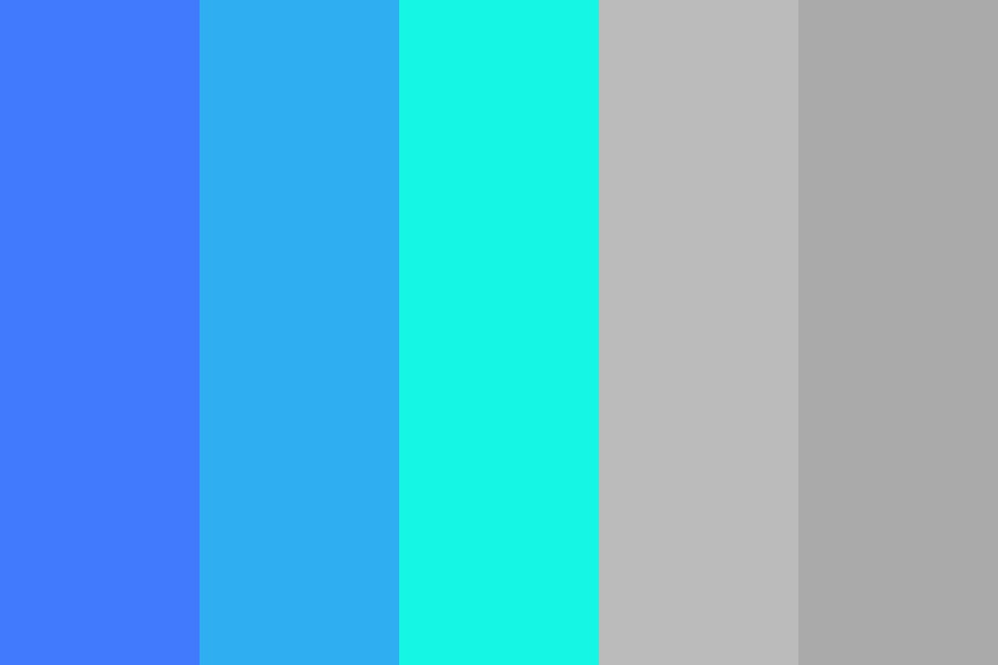 Aura Media Logo Color Palette
