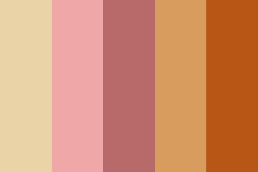 Autumn Bubblegum Color Palette