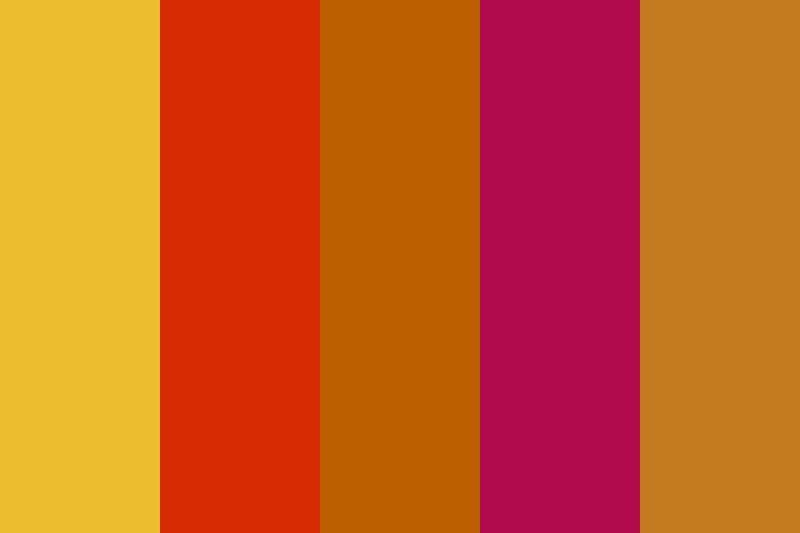 Autumn Colors Color Palette