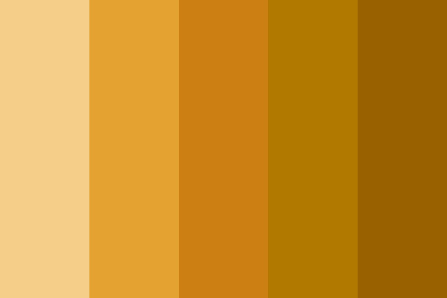 Autumn Leaves Color Palette