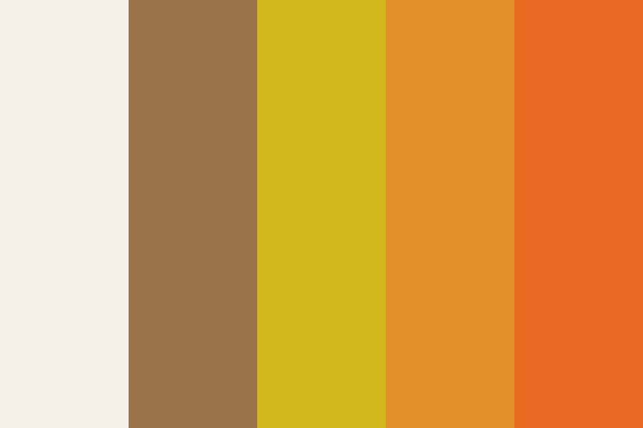 Autumn Love Color Palette