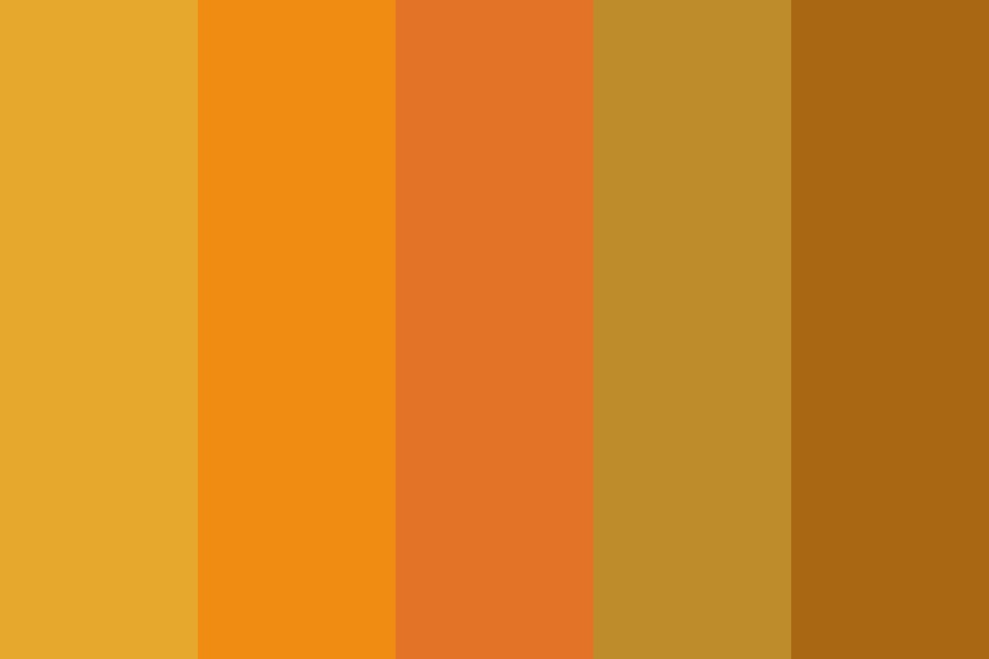 Autumn Oaks Color Palette