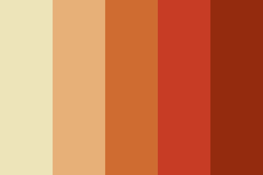 Autumn Shades Color Palette