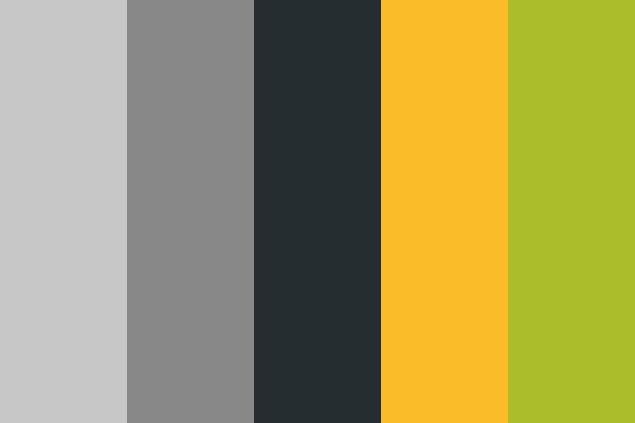 Autumn Shades Of Grey Color Palette