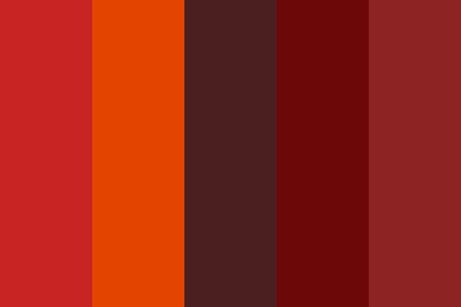 Autumn Spice Is Nice Color Palette
