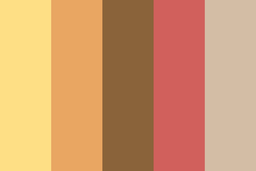Autumn Sunset Color Palette