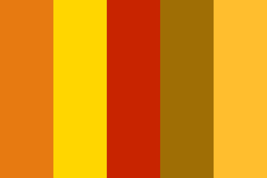 Autumn Tranquility Color Palette