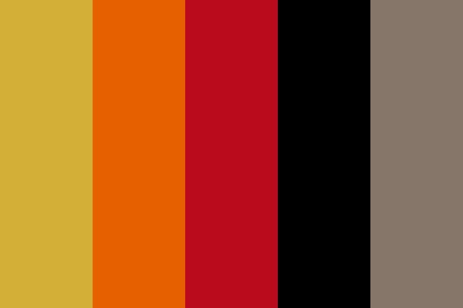Autumns Wedding Color Palette