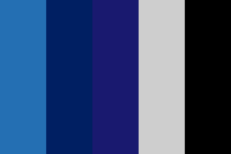 Avengers Quicksilver Color Palette