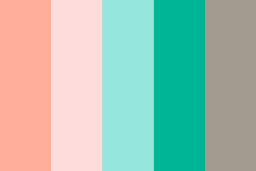 Awakening Flowers Color Palette