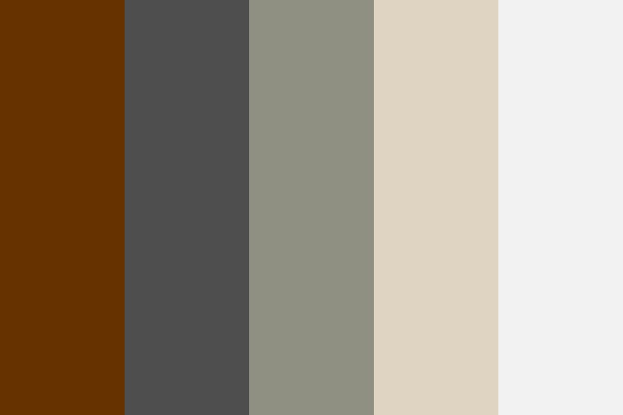 Awm Gray And Muted Colors Color Palette