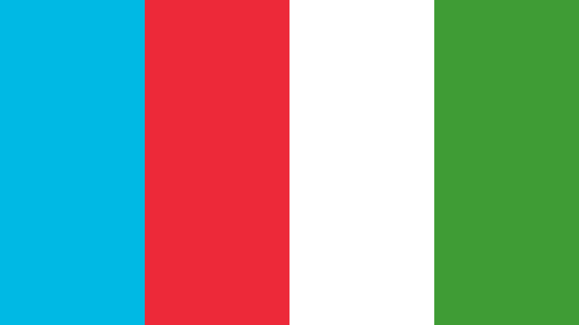 Azerbaijan Flag Color Palette