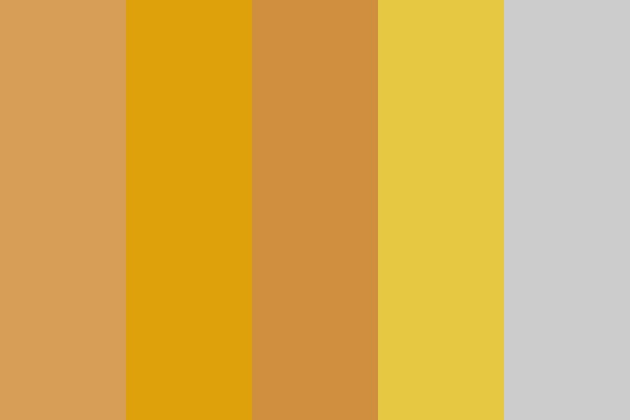 Baby Gold Color Palette
