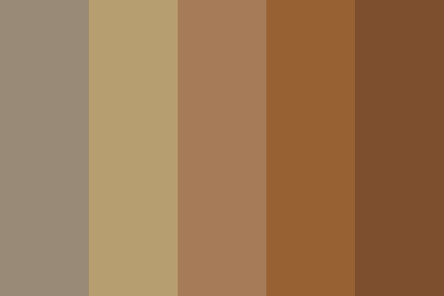 Bad Day And A Cup Of Coffee Color Palette