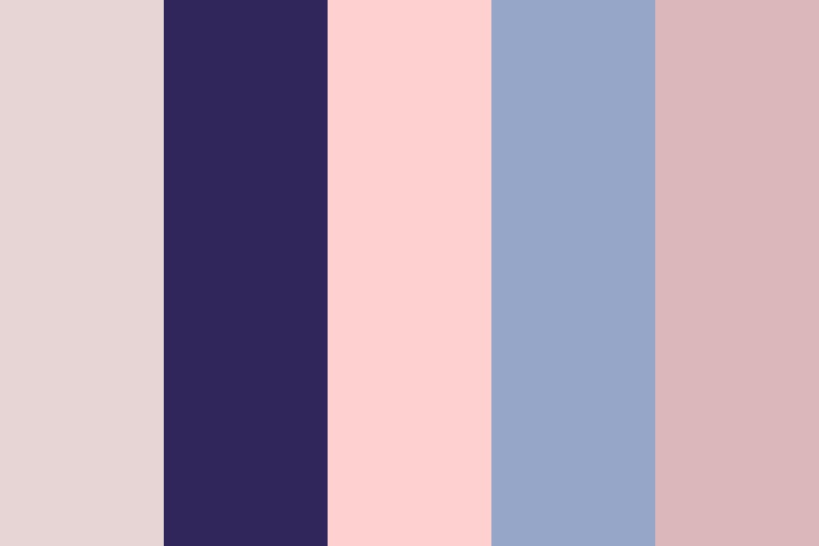 Ballet At Midnight Color Palette