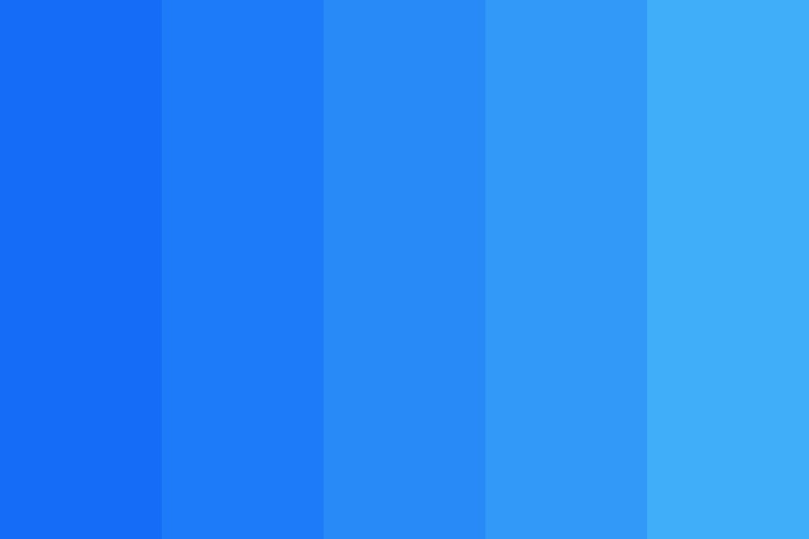 Balstrat Blue Color Palette