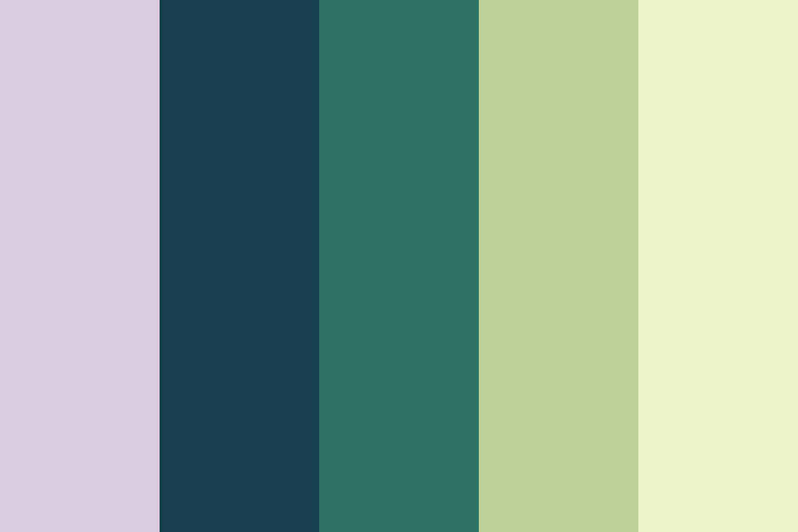 Bamboo   Green Color Palette