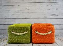 Baskets Green Orange Color Palette