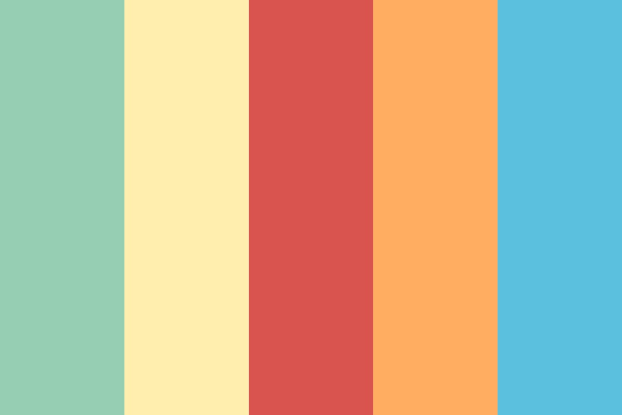 Beach And Sea Color Palette