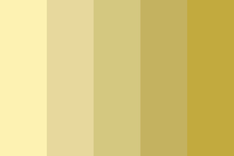 Beach Butter Lily Color Palette