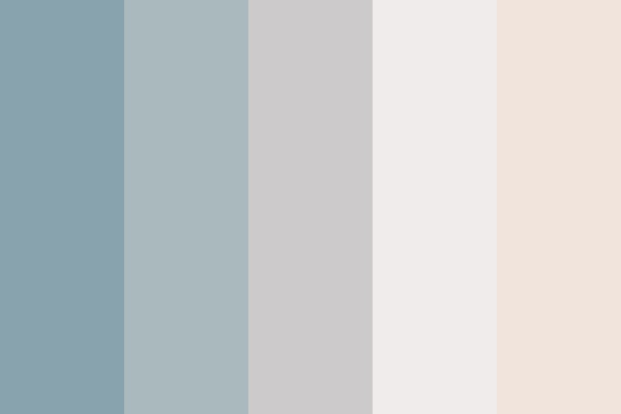 Beach Down Color Palette