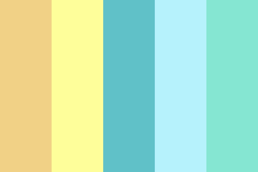 Beach Fun Times Color Palette