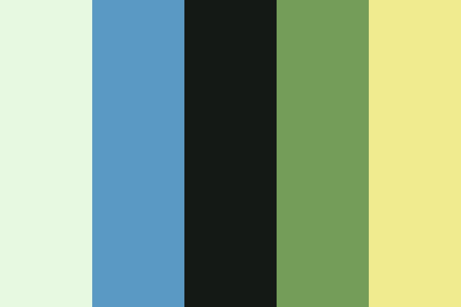 Beach House By The Shore Color Palette